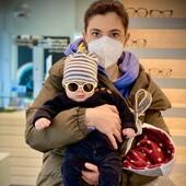"""Oggi una """"babycelebrities"""" da #otticaricci : Giovanni Paolo Castiglione con i suoi nuovi #izipizibaby 😍 Che look 😍 #celebritiesotticaricci #occhiali #occhialidasole #izipizi #occhialikids #uvprotection #occhiali #babyboystyle #otticasiena @giuseppecastiglionebeautestore"""