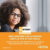 Nulla è più importante della salute e del benessere del tuo bambino. Se noti che si stropiccia spesso gli occhi per guardare lontano, difficoltà nel concentrarsi a scuola o nel gioco, potrebbe essere a causa della miopia. Le lenti Miyosmart permetteranno al tuo bambino di svolgere ogni attività contando su una visione nitida, rallentando allo stesso tempo l'aumento della miopia,  il tutto in modo assolutamente non invasivo, indossando semplicemente gli occhiali! Le nuove lenti Miyosmart sono disponibili presso i nostri centri ottici. #otticaricci #occhiali #occhialidavista #otticaeoptometria #otticasiena #occhialiperbambini #miyosmart #miyosmartlenses #miopia #miopiainfantile