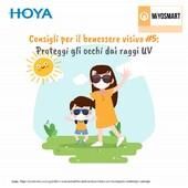 I bambini hanno bisogno di vivere all'aria aperta e di assorbire molta vitamina D attraverso i raggi solari. Allo stesso tempo, i loro occhi vanno protetti in maniera sicura dai raggi UV. Per questo le lenti Miyosmart offrono il 100% di protezione UV. Per gli occhiali da sole con lente non graduata, fidati soltanto di prodotti certificati con marcatura CE. Da Ottica Ricci trovi un'ampia scelta di modelli sicuri per i più piccoli #otticaricci #occhialidavista #occhialidasole #sunglasses #otticasiena #miyosmart #miopiainfantile #progressionemiopica #raggiuv #occhialiperbambini #raybanjunior #stellamccartneykids #shoponline